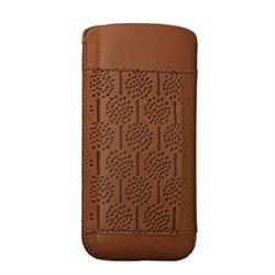 Чехол кожаный Ozaki O!coat Nature Forest коричневый для iPhone 5