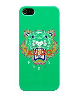 Чехол Kenzo KZ Tiger Green зеленый для iPhone 5