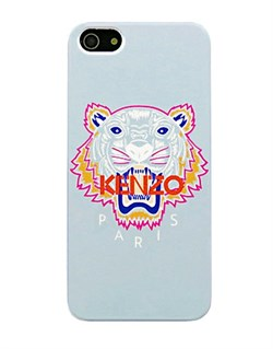 Чехол Kenzo KZ Tiger Gray серый для iPhone 5