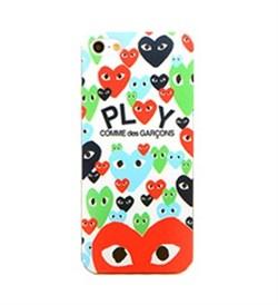 Чехол накладка Play Comme Des Gargons Many Heart для iPhone 5