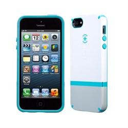 Чехол Speck Candyshell Flip White/Blue для iPhone 5