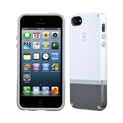 Чехол Speck Candyshell Flip White/Gray для iPhone 5