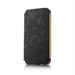 Чехол-книжка Gissar Flora Black для iPhone 5
