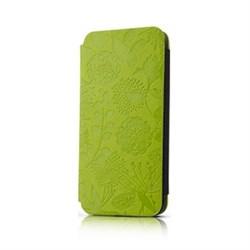 Чехол-книжка Gissar Flora Green для iPhone 5