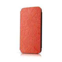 Чехол-книжка Gissar Flora Orange для iPhone 5