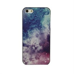 Чехол накладка Cosmos Dark Purple для iPhone 5