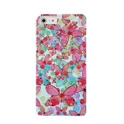 Пластиковый чехол со стразами Butterflys Diamonds для iPhone 5