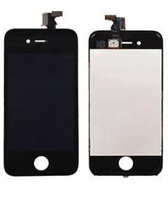 Дисплей для iPhone 4s в сборе, черный (копия)