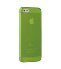 Чехол ультра-тонкий Ozaki O!Coat 0.3 Jelly Green для iPhone 5