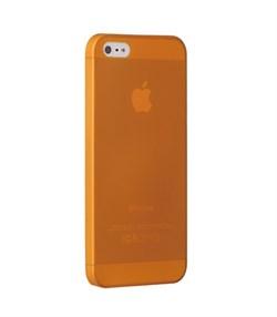 Чехол ультра-тонкий Ozaki O!Coat 0.3 Jelly Orange для iPhone 5