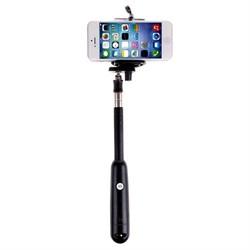 Монопод-держатель для Selfie iPhone, iPod со встроенной кнопкой спуска и универсальным креплением