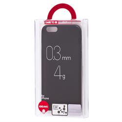 Чехол Ozaki O!coat 0.3 Jelly для Apple iPhone 6 (черный)