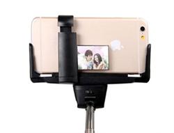 Монопод палка для селфи Wireless Mobile Phone для селфи iPhone, iPod со встроенной Bluetooth кнопкой и зеркалом
