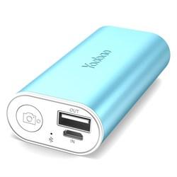 Внешний аккумулятор Yoobao S2 5200 mAh с  Bluetooth кнопокой для селфи - фото 5400