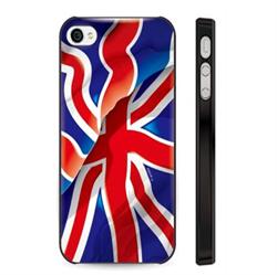 Чехол-накладка Artske iPhone 5/5S Uniq case England Flag - фото 5732