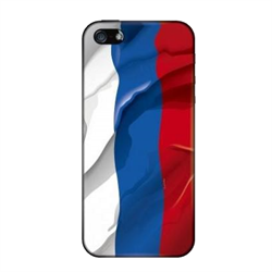 Чехол-накладка Artske iPhone 5/5S Uniq case Russian Flag - фото 5734