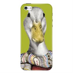 Чехол-накладка Artske iPhone 5/5S Uniq case Goose - фото 5737