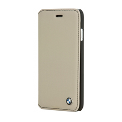Чехол BMW для iPhone 6/ 6s Bicolor Booktype - фото 5748