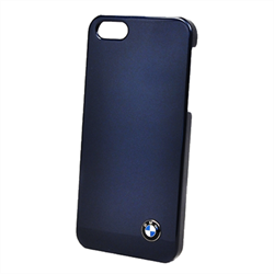 Чехол-накладка BMW для iPhone SE/5/5S Signature Hard Shiny Blue - фото 5812