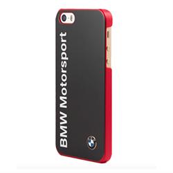Чехол-накладка BMW для iPhone SE/5/5S Motorsport Hard Logo Navy - фото 5822