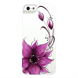 Чехол-накладка для iPhone SE/5/5S iCover Flower - фото 6110