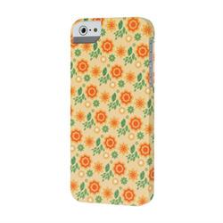 Чехол-накладка для iPhone SE/5/5S  iCover Spring Flower Rubber - фото 6136