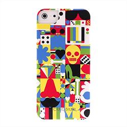 Чехол-накладка для iPhone SE/5/5S iCover Craig&Karl Design1 - фото 6137