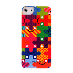 Чехол-накладка для iPhone SE/5/5S iCover Craig&Karl Design2 - фото 6171