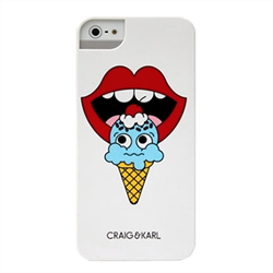 Чехол-накладка для iPhone SE/5/5S iCover Craig&Karl Design7 - фото 6179