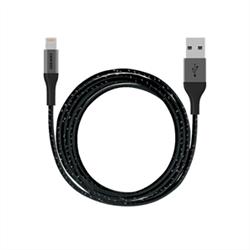 Ozaki USB Кабель Lightning T-Cable L200USB Кабель Lightning Ozaki T-Cable L200. Длина 200 см для iPhone 5/5S/5C/6/6Plus (OT223ABK) - фото 6180
