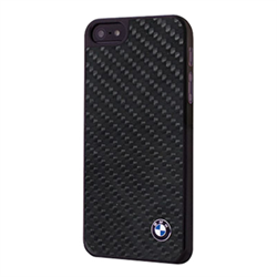Чехол-накладка BMW для iPhone SE/5/5S Signature Hard Real Carbon - фото 6209