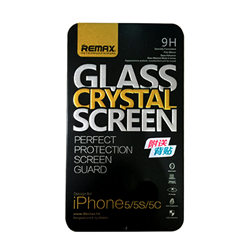 Защитное стекло для iPhone SE/5/5c/5s REMAX Magic Tempered Glass Screen Protectors 0.2mm 2.5D (Металл. упаковка) - фото 7083