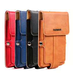 Чехол-портмоне для смартфона Remax Pedestrian Leather Case for Smart Phones (Size L) - фото 7119