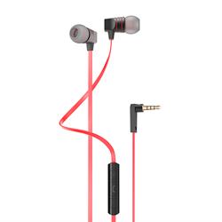 Наушники-вкладыши HOCO Wire Earphone, гарнитура + управление (без громкости) - фото 7555