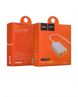 Зарядная станция Hoco UH502 Tavel charger, 5 USB выходов - фото 8058