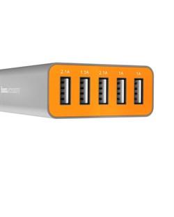 Зарядная станция Hoco UH502 Tavel charger, 5 USB выходов - фото 8059