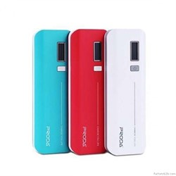 Внешний аккумулятор PRODA Jane PowerBox Power Bank V6i Series 10000мА, USB1-1A/ USB2-2.1A - фото 8192