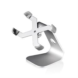 Подставка Just Mobile Xtand для iPhone 4, 5, 5s, SE и iPod Touch, алюминиевая, с функцией поворота на 360 градусов - фото 8331
