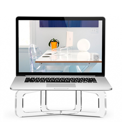 Подставка Twelve South Ghost Stand для Apple MacBook, пластиковая - фото 8335