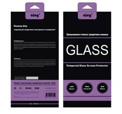 Защитное стекло Ainy Tempered Glass 2.5D для iPhone SE/5/5c/5s (толщина 0.2 мм) - фото 8402