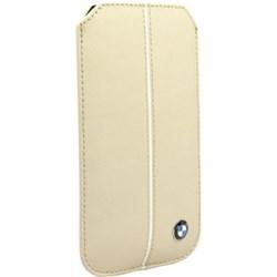Чехол-карман BMW для iPhone SE/5/5s Signature Sleeve с язычком, нат. кожа - фото 8853