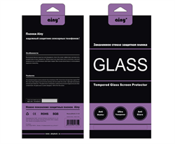 Защитное стекло Ainy Tempered Glass 2.5D для iPhone 6/6s Анти-шпион (толщина 0.33 мм) - фото 8996
