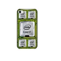 Чехол-накладка Artske для iPhone 4/4S CPU - фото 9150