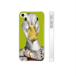 Чехол-накладка Artske для iPhone 4/4S Goose - фото 9152