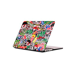 Защитная накладка BTA Workshop Sticker Bomb для Apple MacBook Air 11 - фото 9154