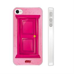 Чехол-накладка Artske для iPhone 4/4S Pink Door - фото 9165