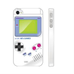 Чехол-накладка Artske для iPhone 4/4S White Gameboy - фото 9171