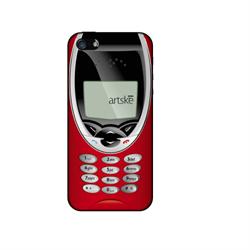 Чехол-накладка Artske для iPhone SE/5/5S Uniq case Old Mobile Red - фото 9178