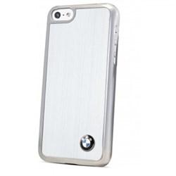 Чехол BMW для iPhone 5C Signature Hard Brush Aluminium - фото 9223