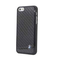 Чехол-накладка BMW для iPhone 5C Signature Hard Real Carbon - фото 9225